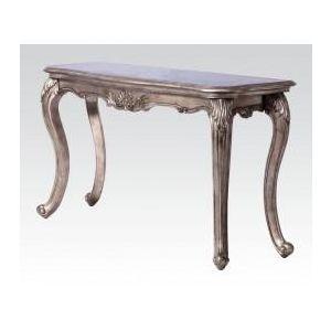 CHANTELLE ANTIQUE PLATINUM SOFA TABLE