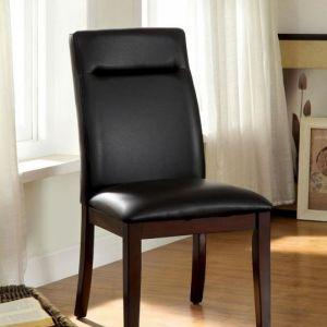 Lawrence Dark Cherry Table Chair(2PK)