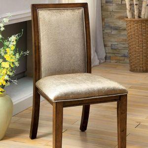 Ingrid I Walnut Table Chair(2PK)