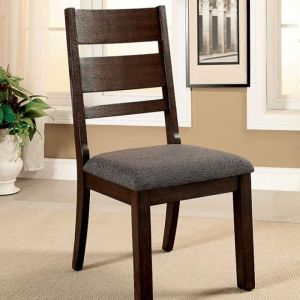 Isadora Espresso Table Chair(2PK)