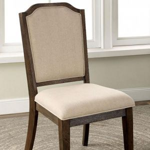 Haylee Wire Brushed Brown Table Chair(2PK)