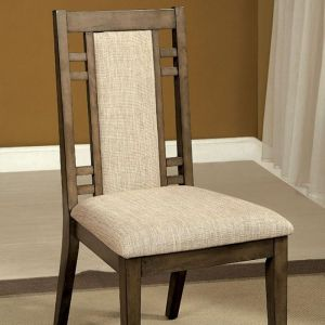 Eris I Weathered Gray Table Chair(2PK)