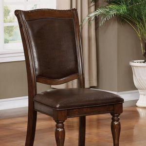 Alpena Brown Cherry Espresso Table Chair(2PK)