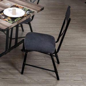 Brixton I Antique Black Table Chair(2PK)