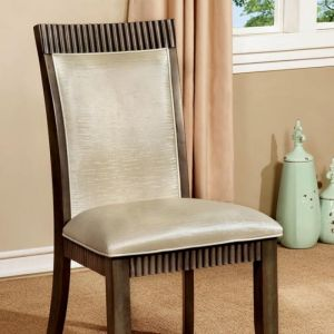 Forbes I Gray White Table Chair(2PK)