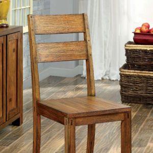 Frontier Dark Oak Table Chair(2PK)