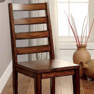 Maddison Tobacco Oak Table Chair(2PK)
