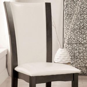 Manhattan Gray White Table Chair(2PK)