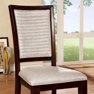 Garrison I Light Gray Espresso Table Chair(2PK)
