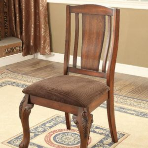 Johannesburg I Brown Cherry Brown Table Chair(2PK)
