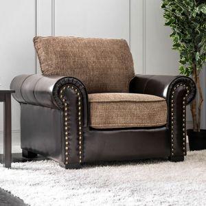 Ceuta Brown Espresso Chair