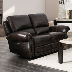 Edmore Brown Loveseat