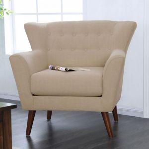 Brecker Beige Chair