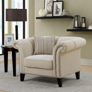 Clarabelle Beige Chair