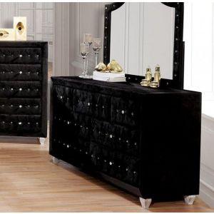 Alzire Black Dresser