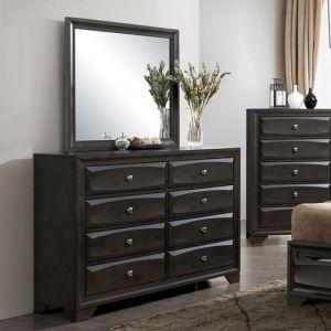 Clotilde Antique Gray Dresser