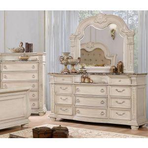 Ammanford Antique Whitewash Dresser