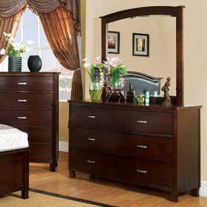 Crest View Brown Cherry Dresser