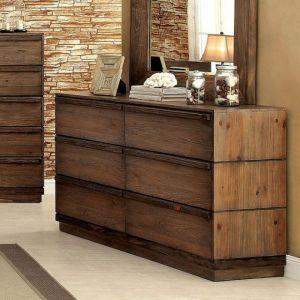 Coimbra Rustic Natural Tone Dresser