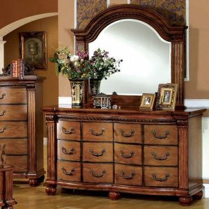Bellagrand Antique Tobacco Oak Dresser