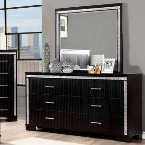 Alver Black Dresser