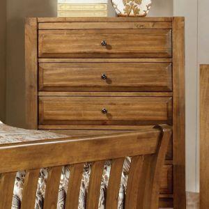 Conrad Rustic Oak Chest