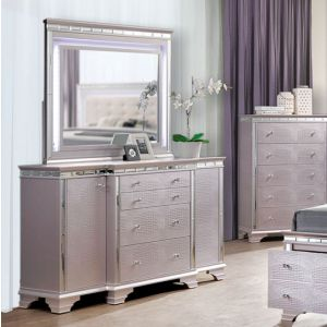 Claudette Silver Rose Dresser