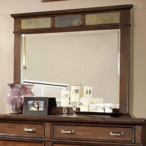 Alcazar Brown Cherry Mirror