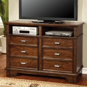Alcazar Brown Cherry Media Chest