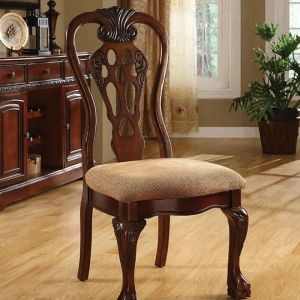 George Town Cherry Table Chair(2PK)