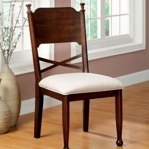 Descanso Brown Cherry Table Chair(2PK)