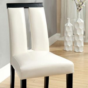 Luminar Black White Table Chair(2PK)