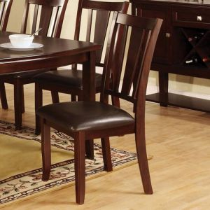 Edgewood I Espresso Table Chair(2PK)