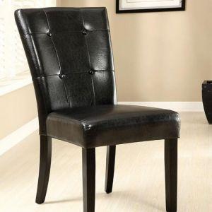 Marion I Black Espresso Table Chair(2PK)