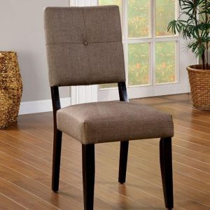 Bay Side I Espresso Table Chair(2PK)