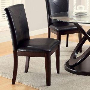 Atenna I Dark Walnut Table Chair(2PK)
