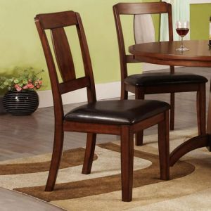 Englewood Antique Dark Oak Table Chair(2PK)