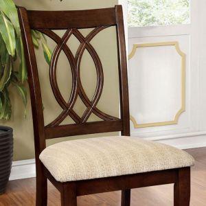 Carlisle Brown Cherry Table Chair(2PK)