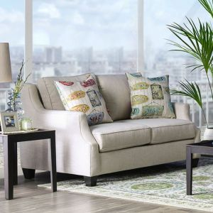 Dasia Beige Multi Loveseat