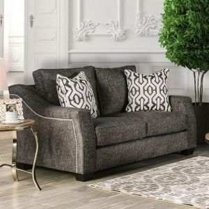 Coralie Charcoal Loveseat
