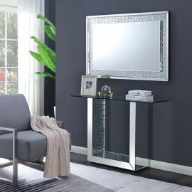 Arell Silver Mirror