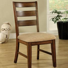 Priscilla I Antique Oak Table Chair(2PK)